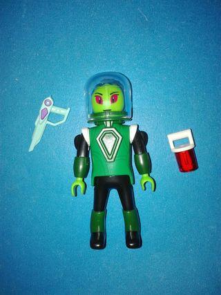 Playmobil alienígena extraterrestre astronauta