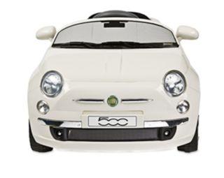 coche Fiat 500 blanco mp3 con caja