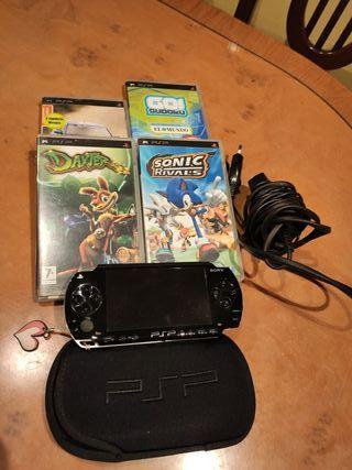PSP y juegos