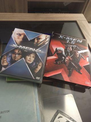 X men 5.1 y X Men 2 - Dvd
