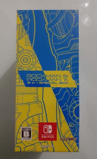 MEGAMAN BOX COLLECTION COLECTOR - NINTENDO SWITCH