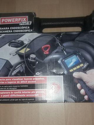 cámara de inspección endoscópica powerfix