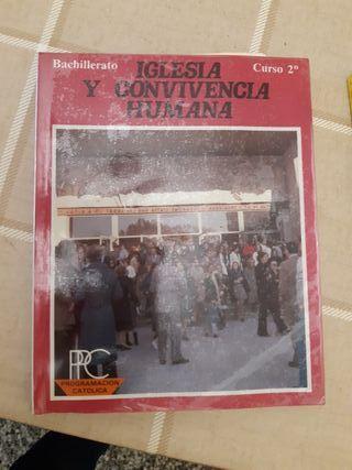 Libro Iglesia y convivencia humana