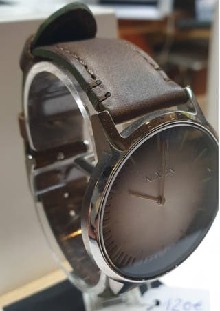 NIXON PORTER LEATHER OMBRE TAUPE