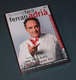 DVD La Cocina Fácil de Ferran Adriá