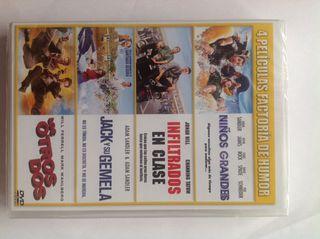 DVD 4 películas de humor