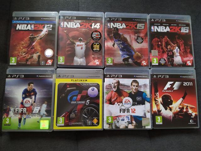Pack juegos PlayStation 3