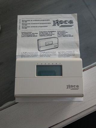 Termostato para caldera programable. Roca TX-300