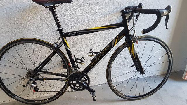 bicicleta carretera giant talla M