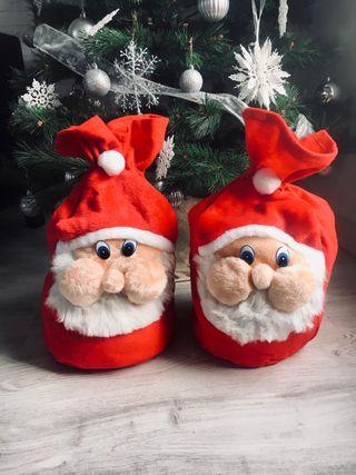 Sacos Regalo Papá Noel Navidad
