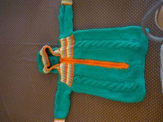 Buzo bebé invierno - artesanal - hecho a mano
