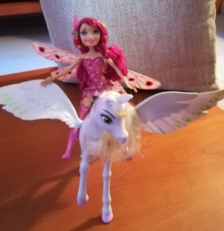 Muñeca Mia and me + unicornio