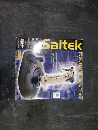 Saitek ST200 USB Control Stick & Throttle
