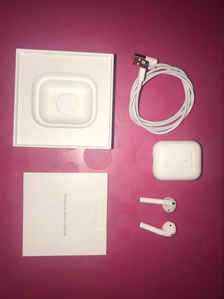 Airpods 2 Apple generación carga inalámbrica