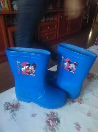 Botas de agua Mickey nº 27
