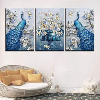 3 cuadros decoración