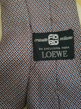 Corbata Vintage Loewe