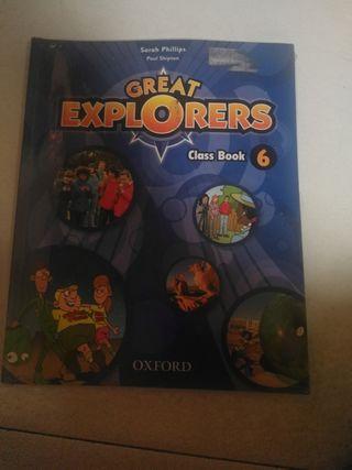 libro de inglés 6° primaria