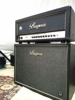 Amplificador de Guitarra (cabezal + pantalla)