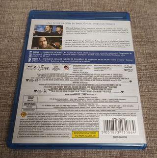 Sherlock Holmes y S.H. Juego de Sombras blu-ray