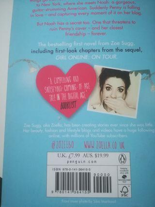 Girl Online -Zoe Sugg ( libro en inglés)