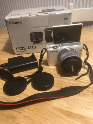 Canon M10 impecable