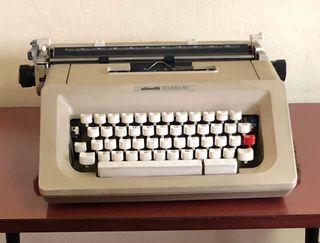 Rebaja! Máquina escribir Hispano Olivetti vintage