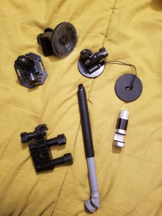 Kit GoPro bici, coche y tabla de surf