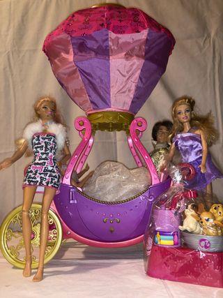 Carruaje barbie