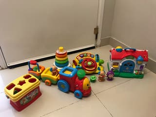 Pack de juegos infantiles de 1 a 3 años