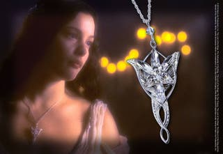 Colgante Arwen Evenstar Plata de Ley Noble Collect