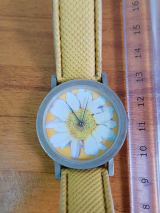 Reloj de pulsera con dibujo de Margarita de la mar
