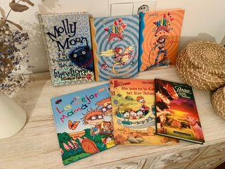 6 x libros infantiles