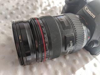 Cámara Canon Eos 6D + Canon 24-70 F2.8 IS USM