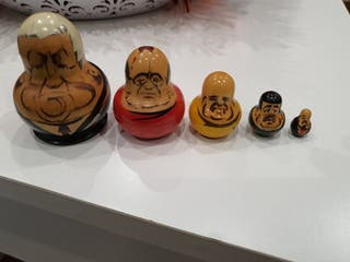 matrioska o muñeca rusa presidentes URSS