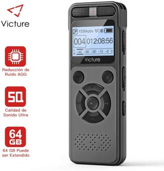 Victure Grabadora de Voz Digital Portátil, 8GB