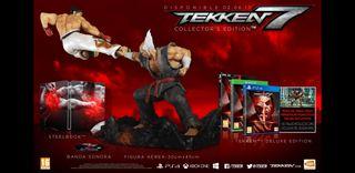 Edición coleccionista tekken 7 ps4