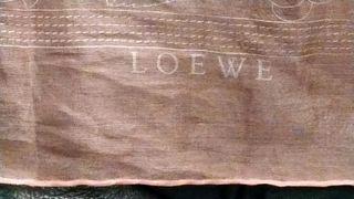 Pañuelo Loewe de organza de seda