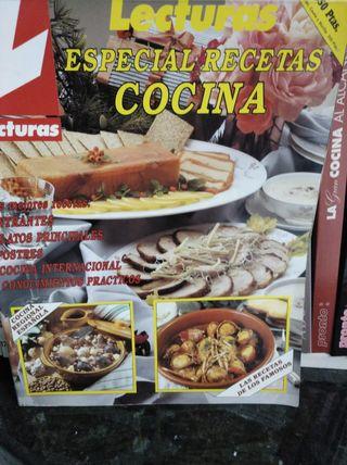 Revista Lecturas Cocina y enciclopedia