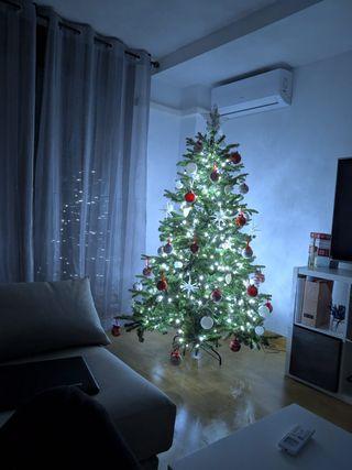 Árbol de Navidad Nuevo 185cm+Luces