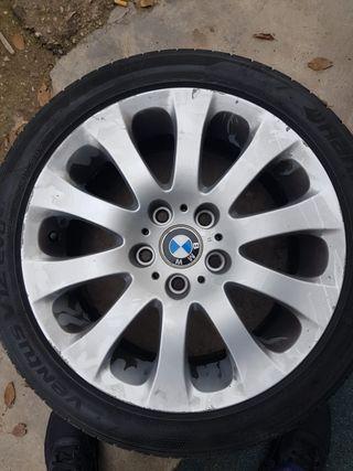 """LLANTAS BMW 17"""" CON GOMAS"""