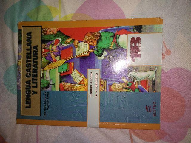 Libro 1 bachillerato lenguaje y literatura Editex