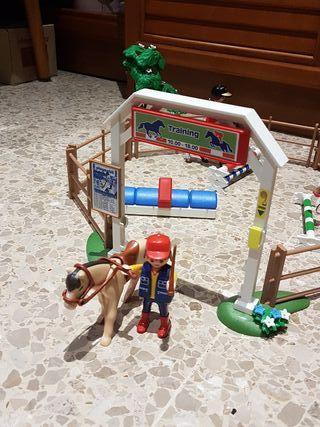 Playmobil caballos