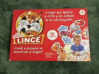Juego mi primer Lince. Educa.