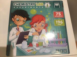 Chemistry lab. Eureka kids. Juego de Experimentos