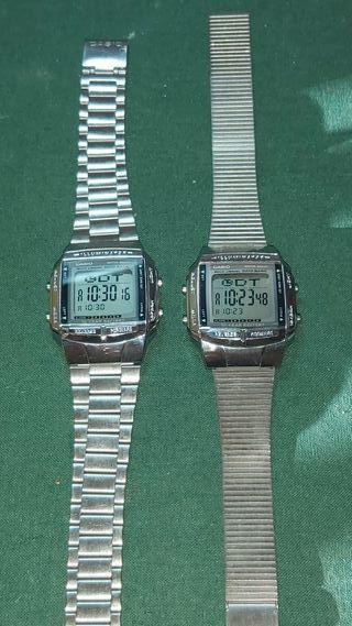lote de relojes casio vintage