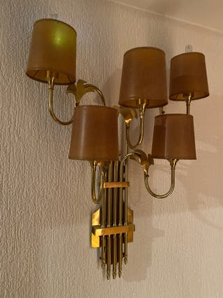 Lámpara de pared antigua