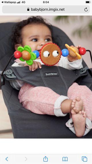 Hamaca BABYBJÖRN con juguete