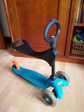 correpasillos/ patinete tres ruedas