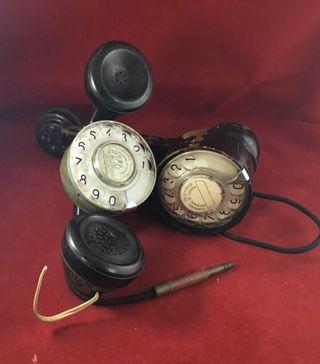 Antiguos teléfonos de pruebas de la CTNE